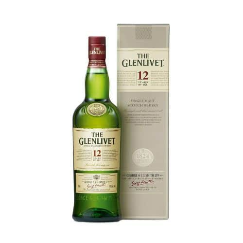 The Glenlivet 12 Year Old with Cao Cigars