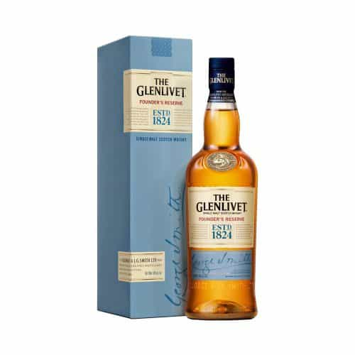 The Glenlivet Founder's Reserve with Cao Cigars