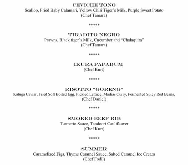Altitude presents a Wine Pairing Dinner with Alkoomi 1