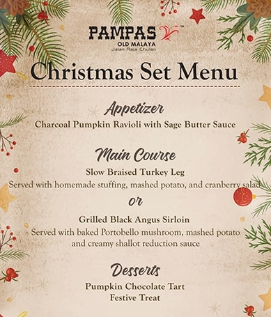 Christmas Day Dinner at Pampas Old Malaya 4