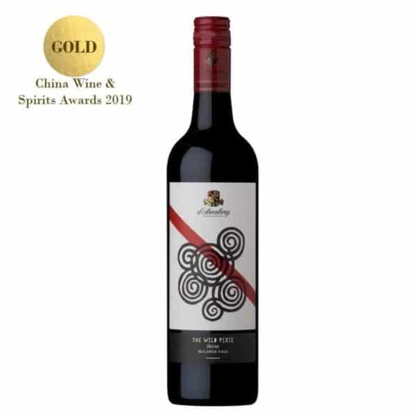 d`Arenberg The Wild Pixie Shiraz 1