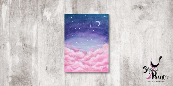 Sweet Dream Sip and Paint 1