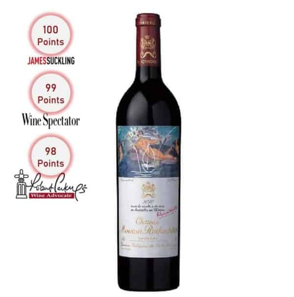 Chateau Mouton Rothschild 2010 1